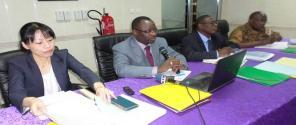 Interconnexion des systèmes informatiques douaniers du Togo et du Burkina Faso/ réunion d'information des administrations publiques du Burkina