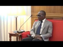 Abdoulaye DIOP reçu par le Président Patrice TALON