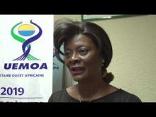 Audience accordée par le PCOM  à la  Première Dame du Burkina Faso.