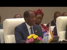 20ème Session des Chefs d'État de l'UEMOA : allocution d'ouverture de Son Excellence Allasane OUATTARA, Président en exercice de la Conférence des Chefs d'Etat et de Gouvernement de l'UEMOA, Président de la République de Côte d'Ivoire