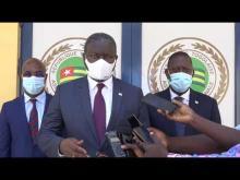 Audience du Président DIOP avec la Présidente de l'Assemblée Nationale du Togo