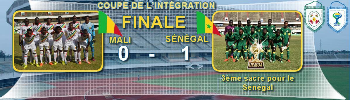 Finale de la Coupe de l'Intégration: 3ème sacre du SÉNÉGAL contre le MALI